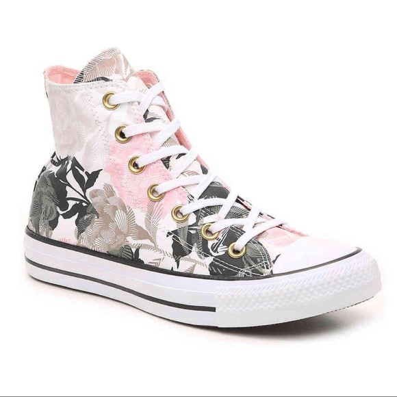 Soldchuck Taylor All Star Linear Floral